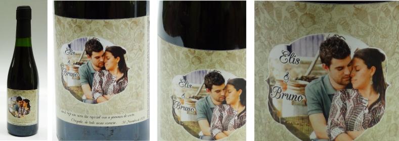 mini vinho personlizado elis